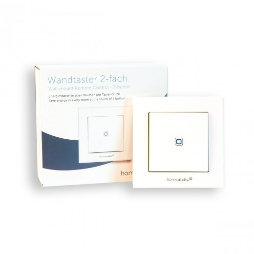 HomeMatic IP Wandtaster 2-fach 140665A0 HMIP-WRC2