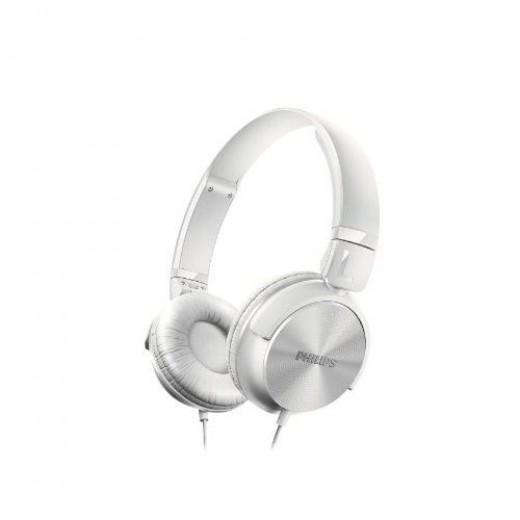 Philips SHL 3060 Bügel-Kopfhörer weiß 32 mm Neodym-Treiber, DJ-Monitoring