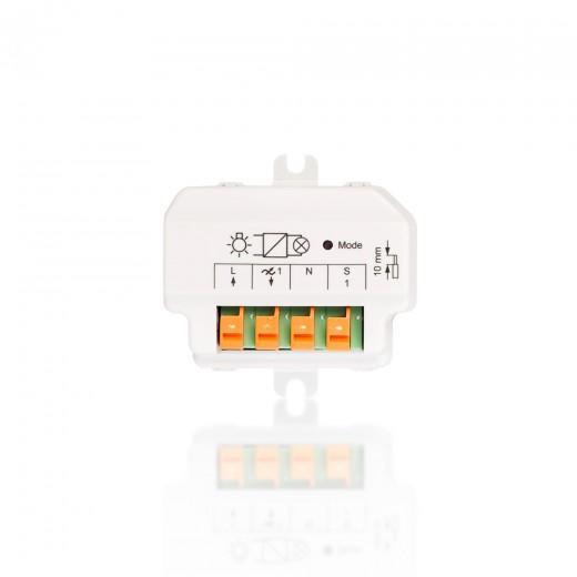 HomeMatic Funk-Dimmaktor Phasenabschnitt 1-fach 91816 HM-LC-Dim1T-FM B-Ware