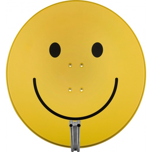 Technisat 1585/1644 Satman 850Plus | smileygelb, AZ/EL-Halterung