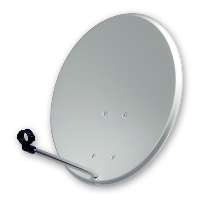 ofa 400 c satellitensch ssel 40cm aluminium lichtgrau. Black Bedroom Furniture Sets. Home Design Ideas