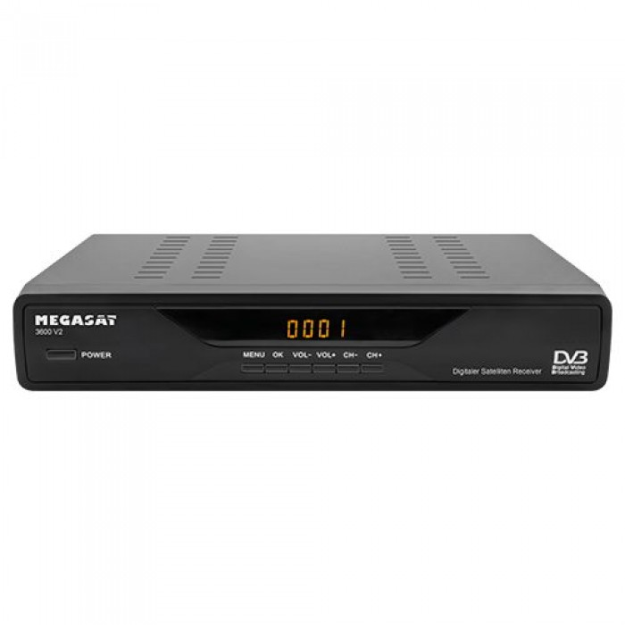 megasat 3600 v2 sat receiver digitaler. Black Bedroom Furniture Sets. Home Design Ideas