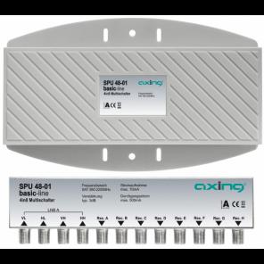 Axing SPU 48-01 Basic Line Multischalter | 8 Teilnehmer, mit Receiver