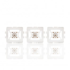 HomeMatic Adapter-Set Gira Standard (GD) 103092 GS für Gira Markenschalter 3-er Set