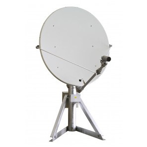 Kathrein CAS 124 1,2m Offset-Parabolantenne mit montierter Spiegel-Heizung