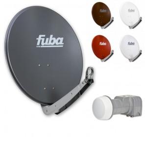 Fuba Digital Sat-Anlage 2 Teilnehmer | Fuba DAA 650 Sat-Antenne + DEK 206 LNB