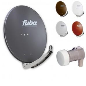 Fuba Digital Sat-Anlage 1 Teilnehmer | Fuba DAA 780 Sat-Antenne + DEK 117 Single LNB