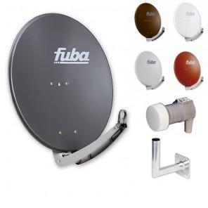 Fuba Digital Sat-Anlage 1 Teilnehmer | Fuba DAA 780 Sat-Antenne + DEK 117 Single LNB + Winkelwandhalter