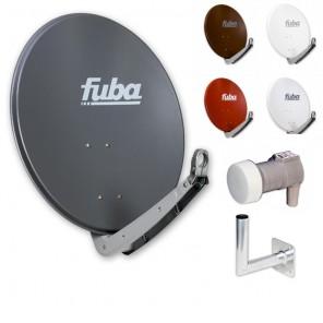 Fuba Digital Sat-Anlage 1 Teilnehmer | Fuba DAA 650 Sat-Antenne + DEK 106 LNB + Winkelwandhalter