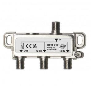 Astro HFD 212 2-fach Abzweiger,5-2400 MHz