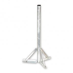 ASCI SSF 120 feuerverzinkter Standfuß mit 120cm Rohrlänge