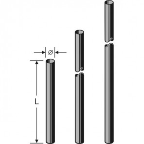 Kathrein ZAS 03 Mast | 2,0 m, 60 mm