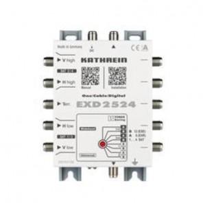 Kathrein EXD 2524 Einkabel Multischalter bis zu 24 Teilnehmer | Unicable/Unicable2 Mulitschalter konfigurierbar, Wideband-tauglich, Kaskade