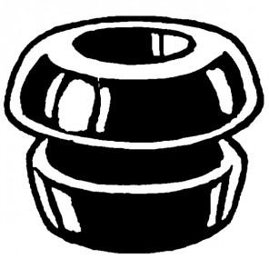 Kathrein ZTC 91 Gummitülle, Kabeleinführung