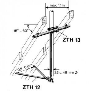 B-Ware - Kathrein ZTH 13 Masthalterung Zwischensparrenbefestigung | Länge: 1,1m