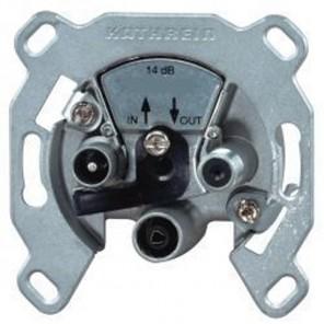 Kathrein ESU 34 3-fach Einzelanschlussdose 1 dB Anschlussdämpfung DC-Durchlass