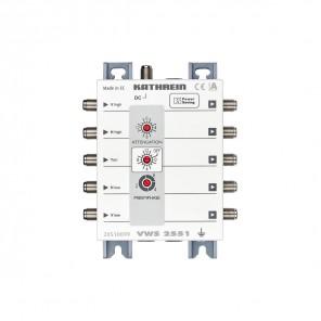 Kathrein VWS 2551 Multischalter-Verteilnetzverstärker kaskadierbar, 15 bis 16 dB, ferngespeist