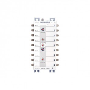 Kathrein VWS 2991 Multischalter-Verteilnetzverstärker kaskadierbar, 15 bis 16 dB, ferngespeist, 2 Satelliten