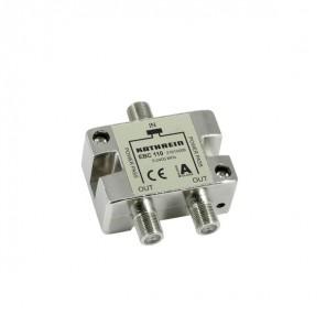 Kathrein EBC 110 2-fach SAT-Verteiler / BK-Verteiler 5-2400MHz | speziell für Einkabel-Systeme
