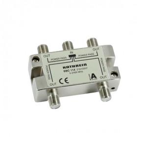 Kathrein EBC 114 4-fach SAT-Verteiler / BK-Verteiler 5-2400MHz | speziell für Einkabel-Systeme