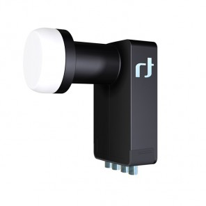 Inverto IDLB-QUTL40-ULTRA-OPP - Black Ultra Quattro LNB für den Multischalterbetrieb | 0,2 dB typ.