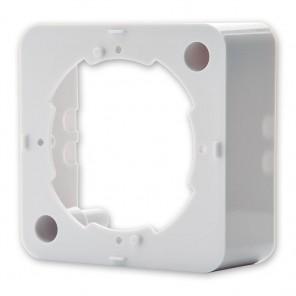 Fuba GDZ 100 Aufputzrahmen für Antennensteckdosen perlweiß passend für GDZ 200, GDZ 300 und GDZ 400