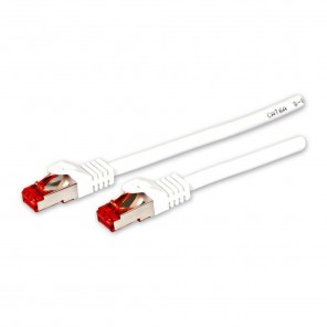 Fuba FCW 200 Cat. 6a Netzwerkkabel weiß 2,00m