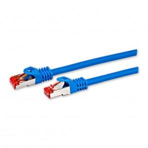 Fuba FCB 1500 Cat. 6a Netzwerkkabel blau 15,0m