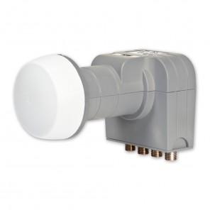 Fuba DEK 406 Quattro LNB | HDTV- 3D- 4K-tauglich | nur für den Multischalterbetrieb geeignet - B-Ware