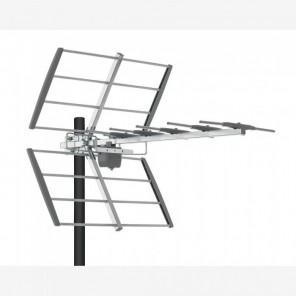 Fuba DAT 4521 DVB-T2 HD Antenne 21 Elemente | UHF-Antenne, vormontiert, ca. 10dB Gewinn