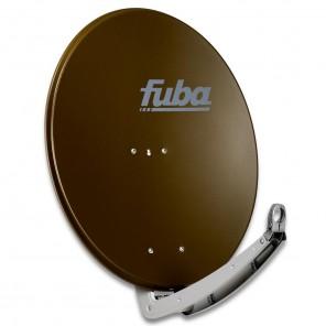 Fuba DAA 780 B Premium Aluminium Sat-Antenne braun | 74 cm x 84 cm mit stabilem Doppeltragarm | B-Ware