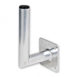 Fuba DAZ 150 Aluminium Winkelwandhalter für Sat-Antennen | 180mm Wandabstand, 300mm Länge, 50mm ø