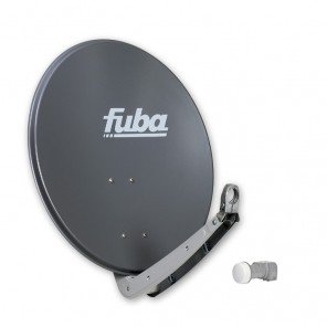 Fuba DAA 650 A + Fuba DEK 206 Single LNB - Sat-Anlage 2 Teilnehmer