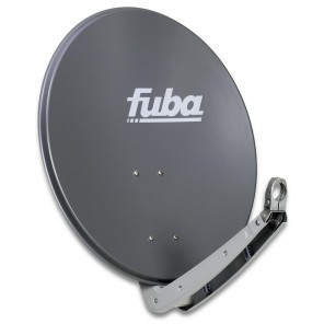 Fuba DAA 650 A Sat-Antenne Aluminium anthrazit | Sat-Schüssel 60 cm x 65 cm