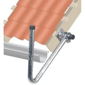 Fuba DUH 500 Dachüberstand-Halterung für Sat-Antennen | stufenlos einstellbar