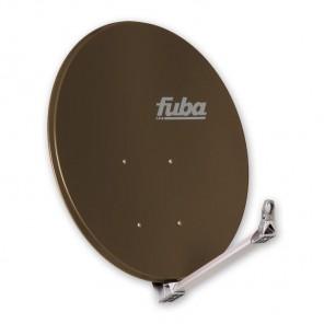 Fuba DAA 110 B Premium Aluminium Satellitenschüssel braun 110cm x 99cm
