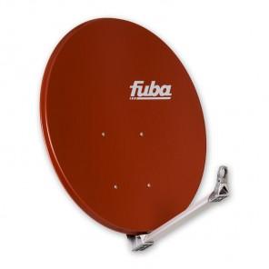 Fuba DAA 110 R Premium Aluminium Satellitenschüssel ziegelrot 110cm x 99cm