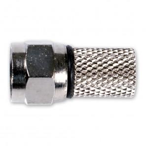 Fuba OVZ 030 F-Stecker für Kabel mit einem Durchmesser von 6,8 mm.