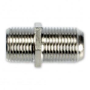 Fuba OVZ 090 (0,00m/Adapter) F-Doppelkupplung, F-Buchse / F-Buchse.
