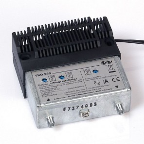 Fuba VKD 230 BK-Verstärker 25 dB Verstärkung | bidirektional (aktiver Rückkanal), 5 bis 1006 MHz
