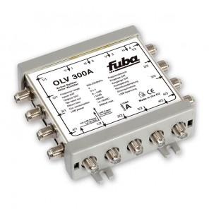 Fuba OLV 300 A aktiver Verteiler für 3 mal 4 Satelliten-Ebenen