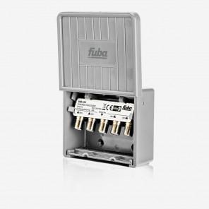 Fuba OSD 410 DiSEqC-Schalter 4/1 | DiSEqC Switch im Wetterschutzgehäuse, für 4 Satelliten (z.B. Astra/Hotbird/Eutelsat/Sirius)