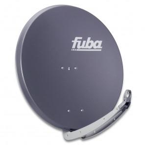 Fuba DAA 850 A Sat-Antenne anthrazit | Alu Sat-Schüssel 85 cm mit Doppeltragarm | B-Ware