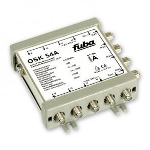 Fuba OSK 54 A Sat Multischalter Kaskade 5/5 aktiv | 4 Teilnehmer | für OSV 505