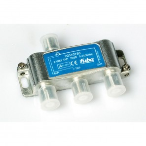 Fuba OHA 225 2-fach Abzweiger in horizontaler Bauform mit 25 dB Abzweigdämpfung