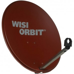 WISI OA 36I Sat Schüssel 60cm Aluminium rotbraun Orbit Line | Offset Sat Antenne