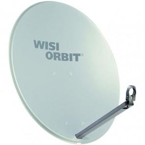 WISI OA 38G Sat-Schüssel 80cm Aluminium lichtgrau Orbit Line   Offset Sat Antenne
