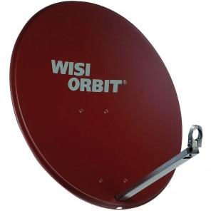 WISI OA 38I Sat Schüssel 80cm Aluminium rotbraun Orbit Line | Offset Sat Antenne