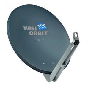 WISI OA 85H Sat Schüssel 85cm Aluminium basaltgrau Topline   Offset Sat Antenne