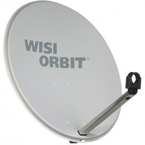 WISI OA 36G Sat Schüssel 60cm Aluminium lichtgrau Orbit Line | Offset Sat Antenne